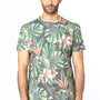 Threadfast Apparel Mens Ultimate Short Sleeve Crewneck T-Shirt - Tropical Jungle