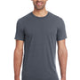 Threadfast Apparel Mens Fleck Short Sleeve Crewneck T-Shirt - Charcoal Grey