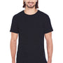 Threadfast Apparel Mens Fleck Short Sleeve Crewneck T-Shirt - Black