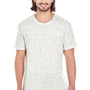 Threadfast Apparel Mens Fleck Short Sleeve Crewneck T-Shirt - Cream