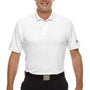 Under Armour Mens Corp Performance Snag Resistant Short Sleeve Polo Shirt - White