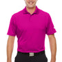 Under Armour Mens Corp Performance Snag Resistant Short Sleeve Polo Shirt - Tropic Pink