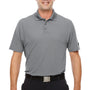 Under Armour Mens Corp Performance Snag Resistant Short Sleeve Polo Shirt - Heather Grey