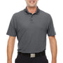 Under Armour Mens Corp Performance Snag Resistant Short Sleeve Polo Shirt - Graphite Grey