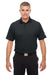 Under Armour 1261172 Mens Corp Performance Snag Resistant Short Sleeve Polo Shirt Black Front