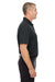 Under Armour 1261172 Mens Corp Performance Snag Resistant Short Sleeve Polo Shirt Black Side