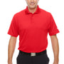 Under Armour Mens Corp Performance Snag Resistant Short Sleeve Polo Shirt - Red