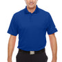 Under Armour Mens Corp Performance Snag Resistant Short Sleeve Polo Shirt - Royal Blue