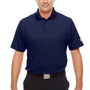 Under Armour Mens Corp Performance Snag Resistant Short Sleeve Polo Shirt - Midnight Navy Blue