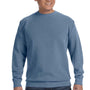 Comfort Colors Mens Crewneck Sweatshirt - Blue Jean