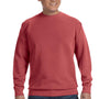 Comfort Colors Mens Crewneck Sweatshirt - Crimson Red