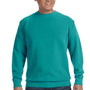 Comfort Colors Mens Crewneck Sweatshirt - Seafoam Green