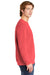Comfort Colors 1566 Mens Crewneck Sweatshirt Watermelon Pink Side