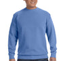 Comfort Colors Mens Crewneck Sweatshirt - Flo Blue