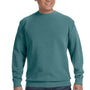 Comfort Colors Mens Crewneck Sweatshirt - Blue Spruce