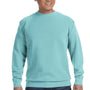 Comfort Colors Mens Crewneck Sweatshirt - Chalky Mint