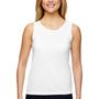 Augusta Sportswear Womens White Training Moisture Wicking Tank Top
