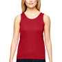 Augusta Sportswear Womens Red Training Moisture Wicking Tank Top