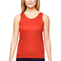 Augusta Sportswear Womens Orange Training Moisture Wicking Tank Top