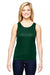 Augusta Sportswear 1705 Womens Training Moisture Wicking Tank Top Dark Green Front