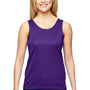 Augusta Sportswear Womens Purple Training Moisture Wicking Tank Top
