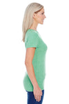 Threadfast Apparel 202A Womens Short Sleeve Crewneck T-Shirt Green Side