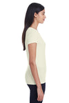 Threadfast Apparel 202A Womens Short Sleeve Crewneck T-Shirt Cream Side