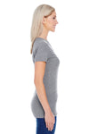 Threadfast Apparel 202A Womens Short Sleeve Crewneck T-Shirt Grey Side