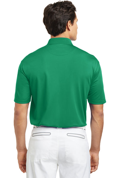 Nike 203690 Mens Tech Basic Dri-Fit Moisture Wicking Short Sleeve Polo Shirt Kelly Green Back