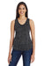 Threadfast Apparel 204LT Womens Blizzard Jersey Tank Top Black Front