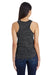 Threadfast Apparel 204LT Womens Blizzard Jersey Tank Top Black Back