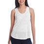 Threadfast Apparel Womens Blizzard Jersey Tank Top - White