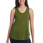 Threadfast Apparel Womens Blizzard Jersey Tank Top - Olive Green
