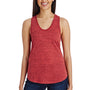 Threadfast Apparel Womens Blizzard Jersey Tank Top - Red