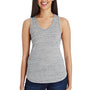 Threadfast Apparel Womens Blizzard Jersey Tank Top - Silver Grey