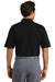 Nike 244612 Mens Dri-Fit Moisture Wicking Short Sleeve Polo Shirt Black Back