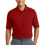 Nike Mens Dri-Fit Moisture Wicking Short Sleeve Polo Shirt - Sport Red - Closeout