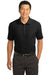 Nike 267020 Mens Classic Dri-Fit Moisture Wicking Short Sleeve Polo Shirt Black Front