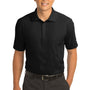 Nike Mens Classic Dri-Fit Moisture Wicking Short Sleeve Polo Shirt - Black