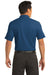 Nike 267020 Mens Classic Dri-Fit Moisture Wicking Short Sleeve Polo Shirt Court Blue Back