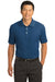 Nike 267020 Mens Classic Dri-Fit Moisture Wicking Short Sleeve Polo Shirt Court Blue Front