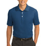 Nike Mens Classic Dri-Fit Moisture Wicking Short Sleeve Polo Shirt - Court Blue