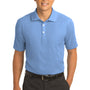 Nike Mens Classic Dri-Fit Moisture Wicking Short Sleeve Polo Shirt - Light Blue