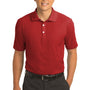 Nike Mens Classic Dri-Fit Moisture Wicking Short Sleeve Polo Shirt - Varsity Red