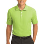 Nike Mens Classic Dri-Fit Moisture Wicking Short Sleeve Polo Shirt - Vivid Green - Closeout