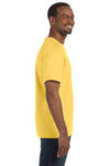 Jerzees 29M Mens Dri-Power Moisture Wicking Short Sleeve Crewneck T-Shirt Island Yellow Side