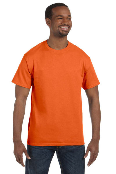 Jerzees 29M Mens Dri-Power Moisture Wicking Short Sleeve Crewneck T-Shirt Tennessee Orange Front