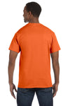 Jerzees 29M Mens Dri-Power Moisture Wicking Short Sleeve Crewneck T-Shirt Tennessee Orange Back