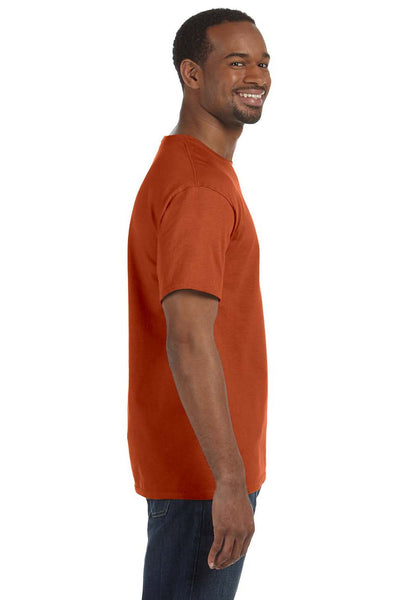 Jerzees 29M Mens Dri-Power Moisture Wicking Short Sleeve Crewneck T-Shirt Texas Orange Side