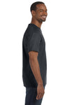 Jerzees 29M Mens Dri-Power Moisture Wicking Short Sleeve Crewneck T-Shirt Charcoal Grey Side